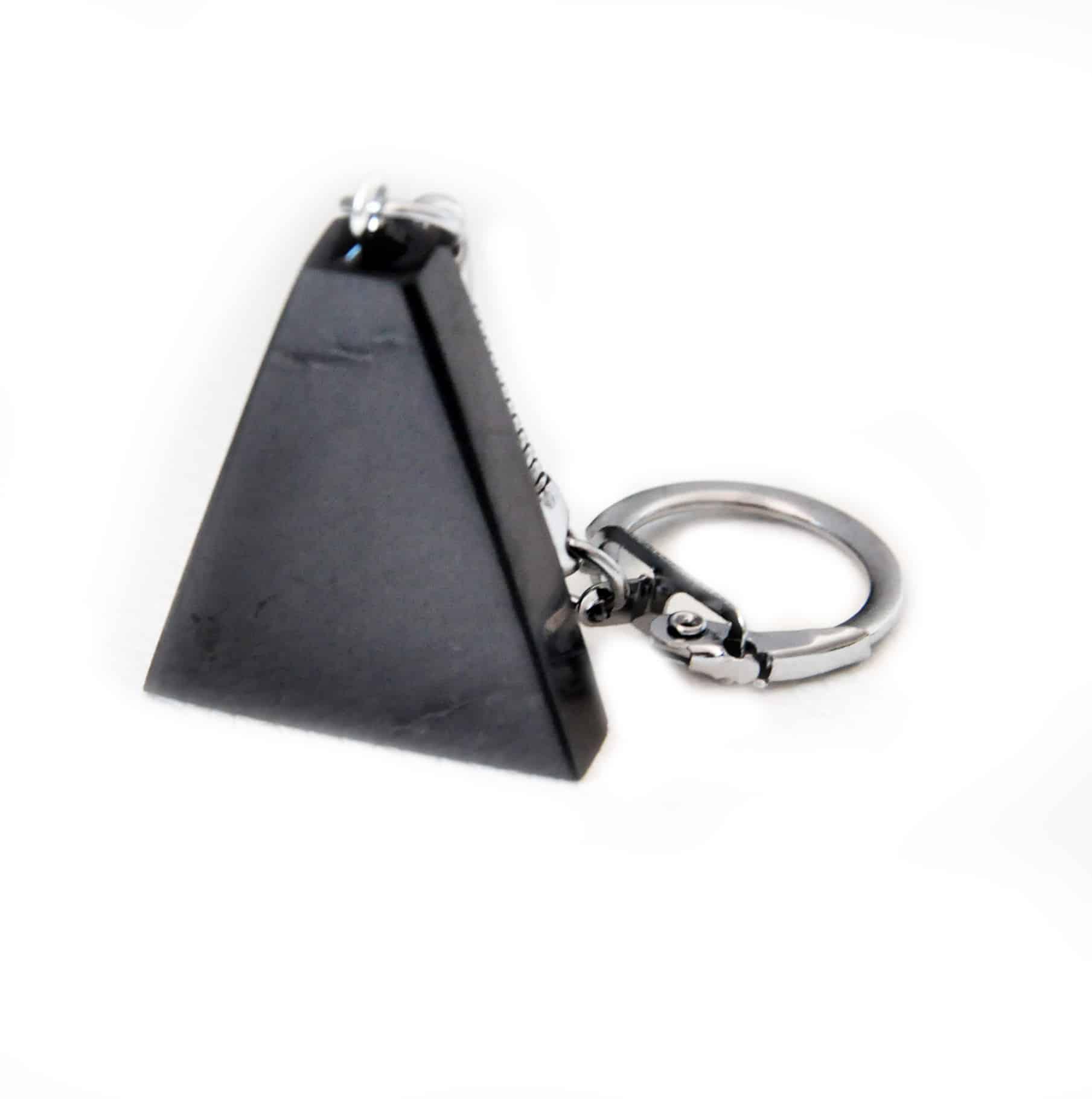 Shungite trapeze sleutelhanger